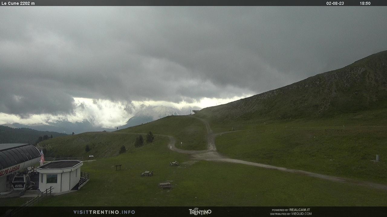 Arrivo cabinovia Valbona-Le Cune - Alpe Lusia