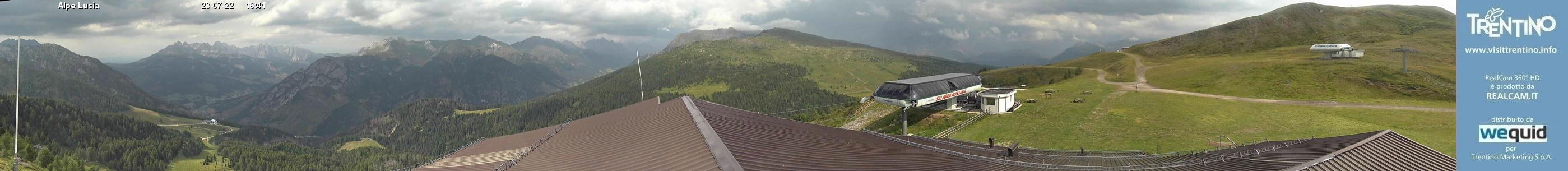 Webcam 360° Alpe Lusia (Moena)