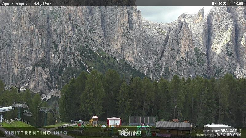 Webcam Vigo di Fassa