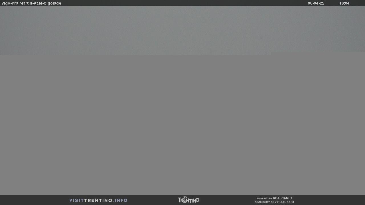 Webcam Vigo di Fassa - Catinaccio - Pra Martin - Altitude: 1,997 metresArea: Ciampedìe Panoramic viewpoint: