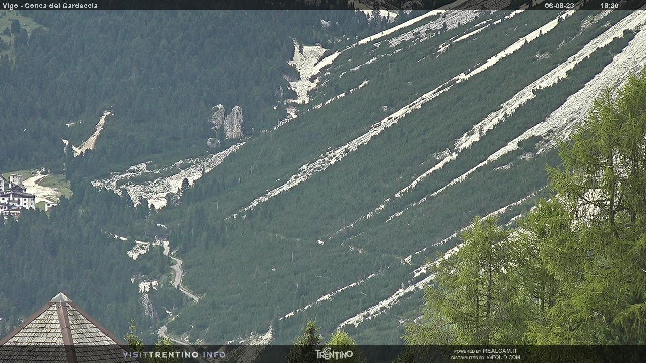 Webcam conca del gardeccia vigo