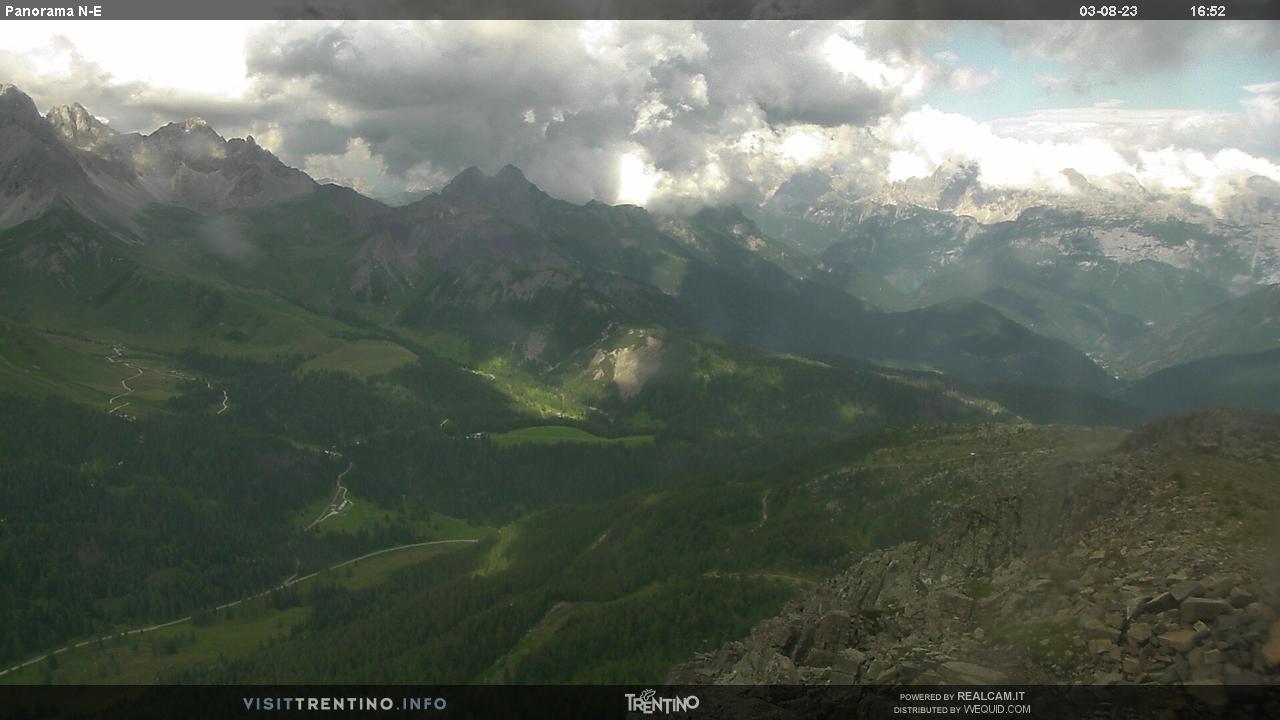 Panorama dal Col Margherita - San Pellegrino