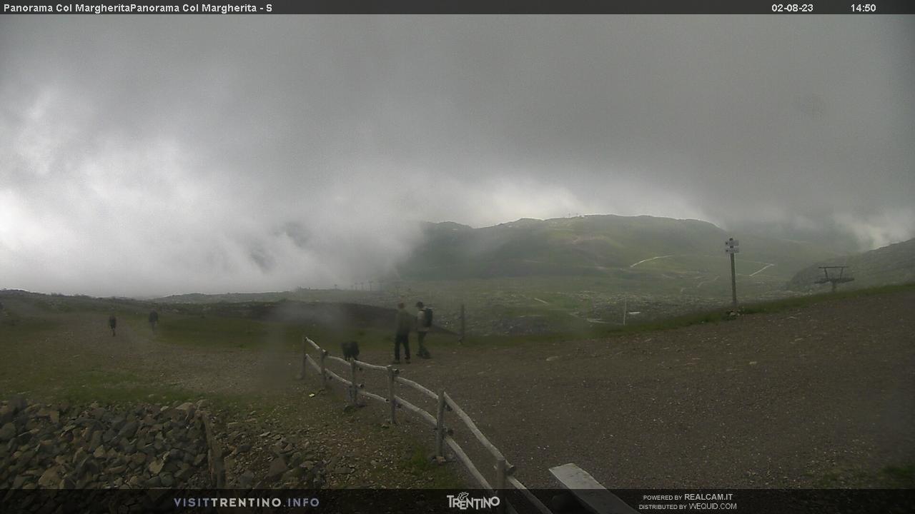 Webcam Seggiovia Lago Cavia-Col Margherita - Falcade, Dolomiti Superski,