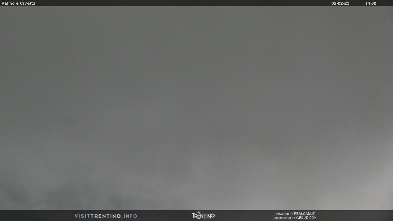 Webcam Pelmo e Civetta da Col Margherita - Falcade/San Pellegrino, Dolomiti Superski