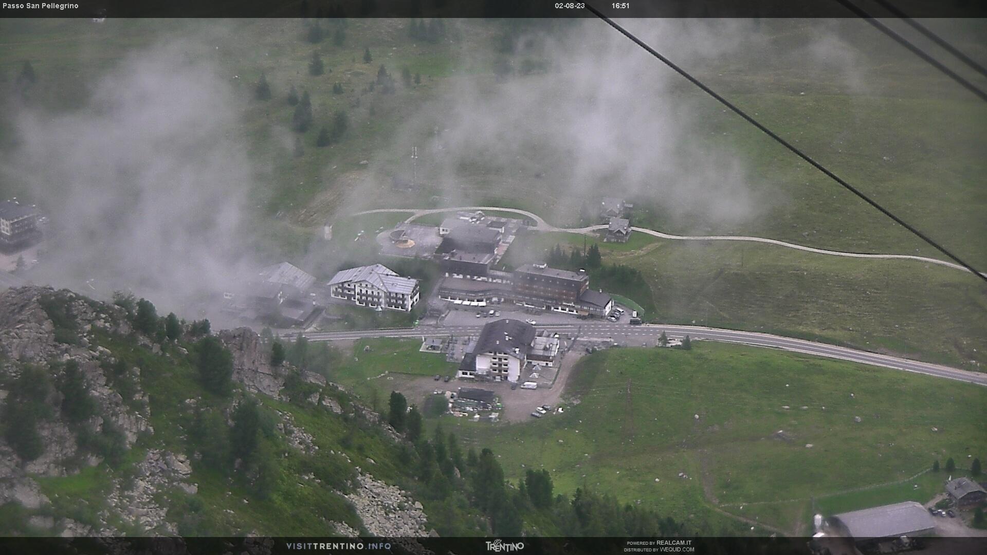 Passo San Pellegrino webcam - Col Margherita