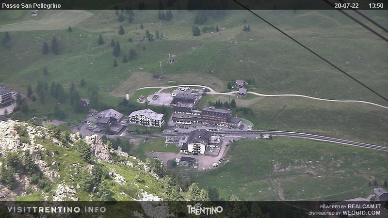 Webkamera Tre Valli (Alpe Lusia)