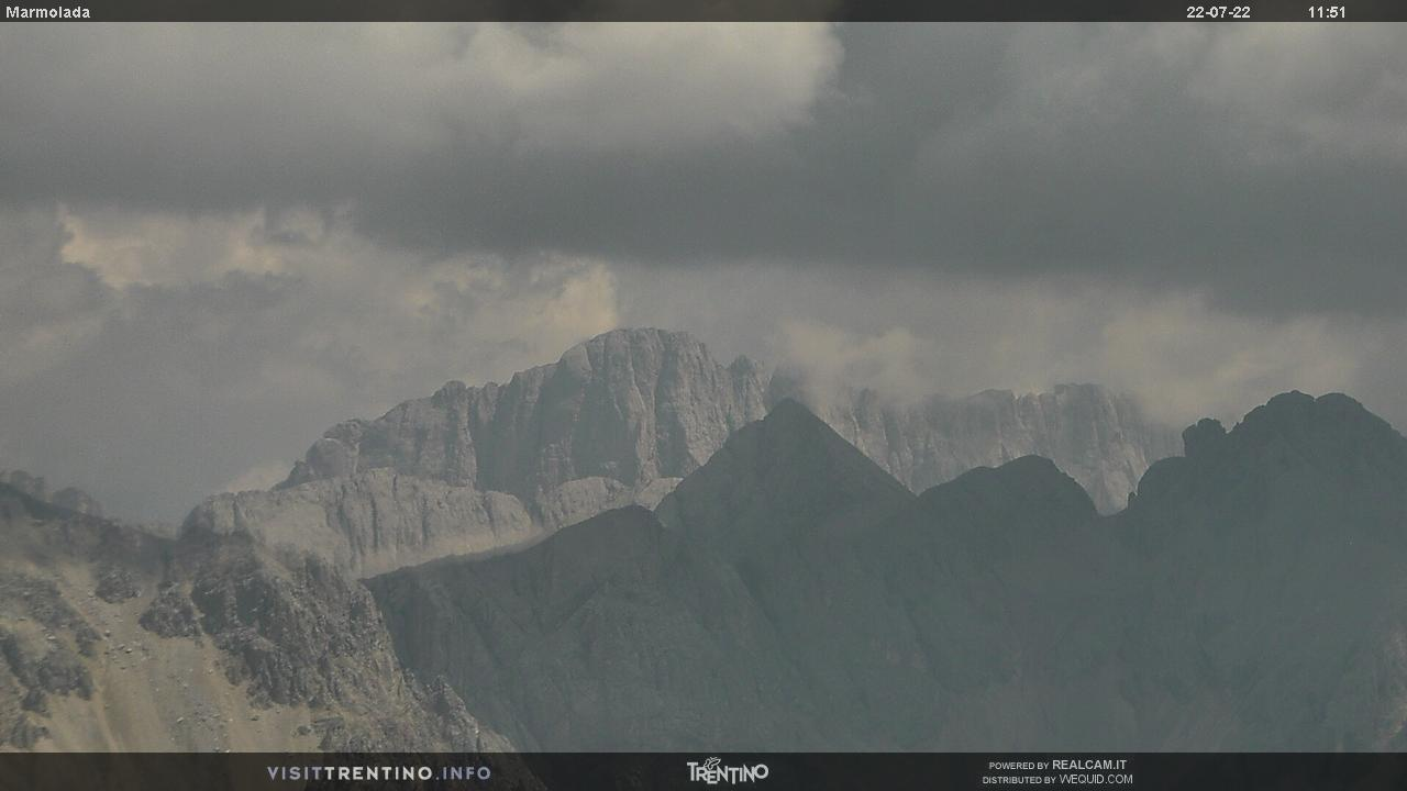 Webcam parete sud Marmolada