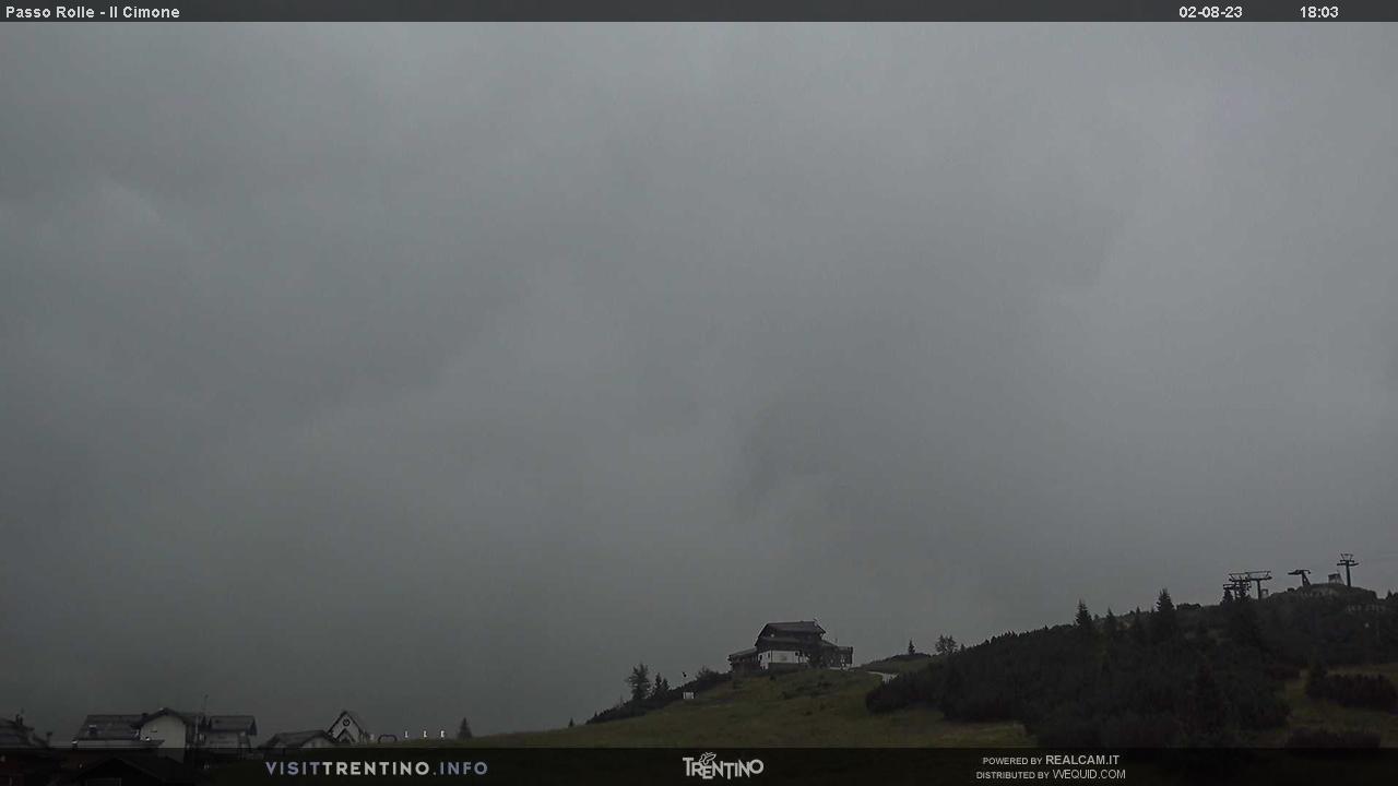 Webcam Seggiovia Cimon - Passo Rolle, Dolomiti Superski,