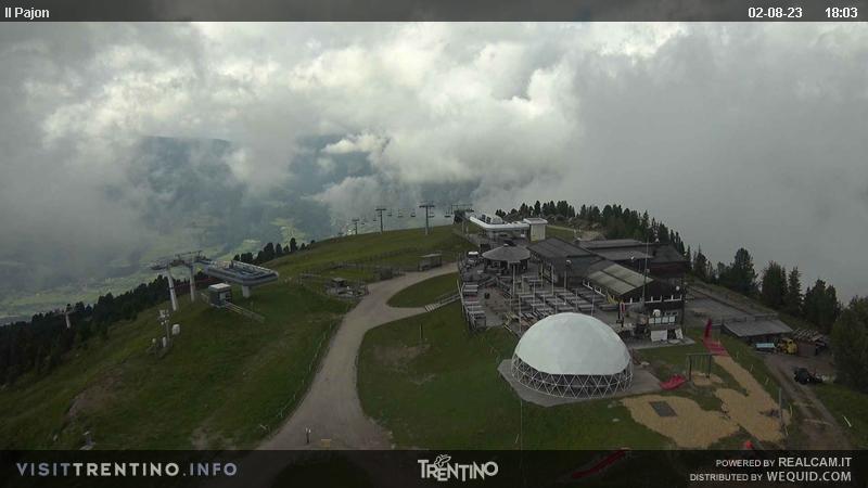Alpe Cermis - Il Pajon webcam