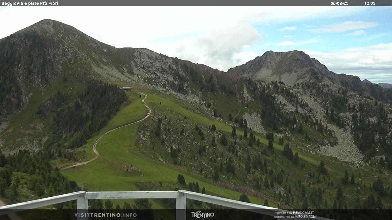 Seggiovia Prà Fiorì - Alpe Cermis