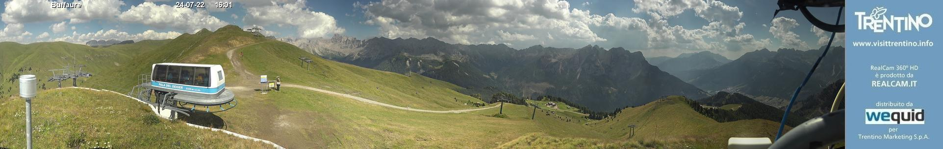Webcam 360° Buffaure (Pozza di Fassa)