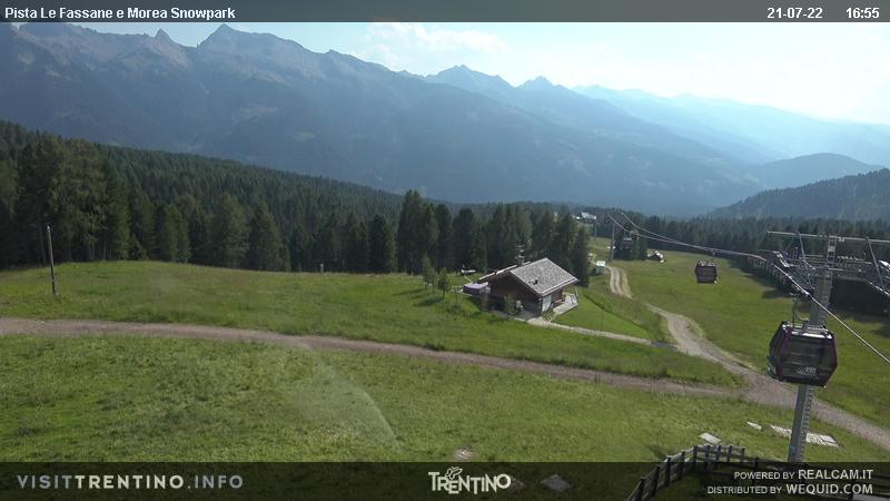 Webcam Moena - Alpe Lusia