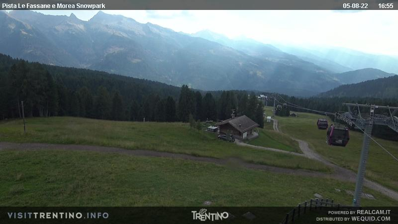 Webcam <br><span>SkiAreaAlpeLusia - Castelir</span>
