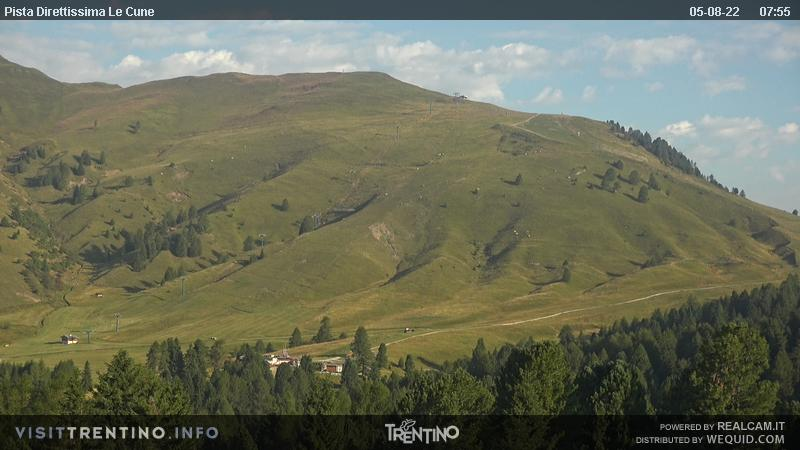 Webcam <br><span>SkiAreaAlpeLusia - Pista Castelir</span>