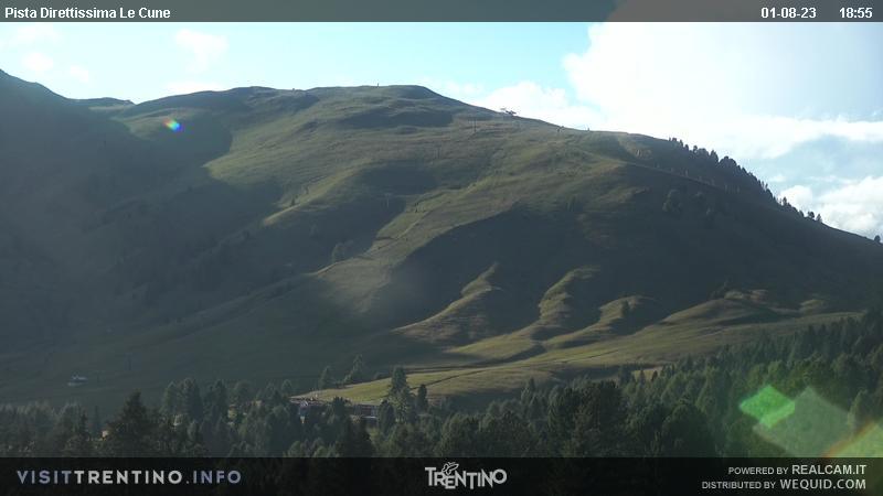 Webkamera Alpe  Lusia– Bellamonte
