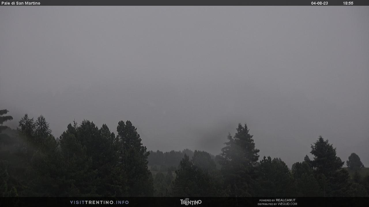 Pale di San Martino dall'Alpe Lusia