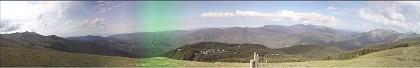 Panorama dalla Doganaccia