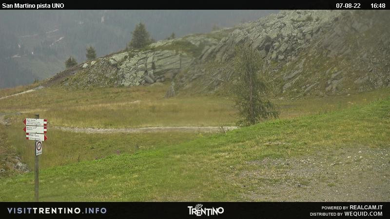 Webcam San Martino di Castrozza, pista Uno