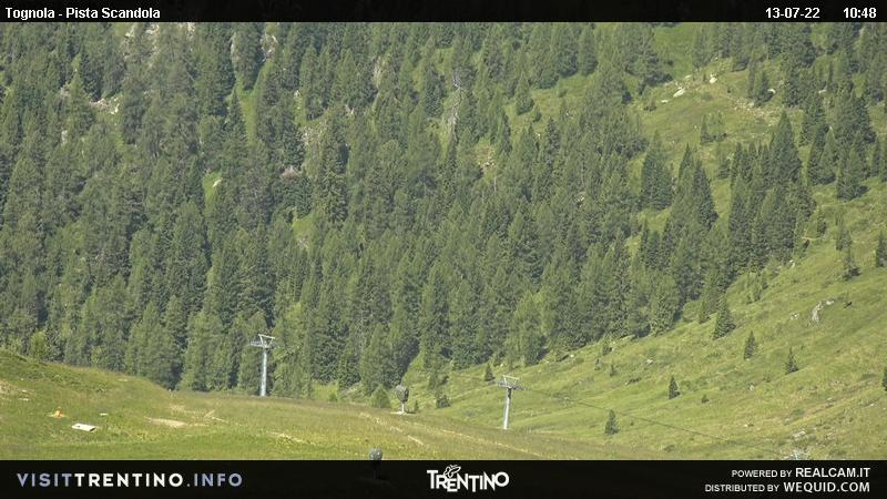Webcam San Martino di Castrozza Tognola