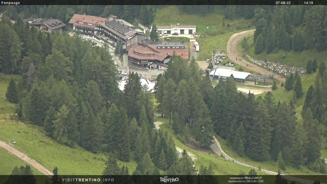 Webcam Passo Feudo - Predazzo/Pampeago - Ski Center Latemar
