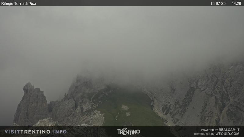 Val di Fiemme - kamera na stoku