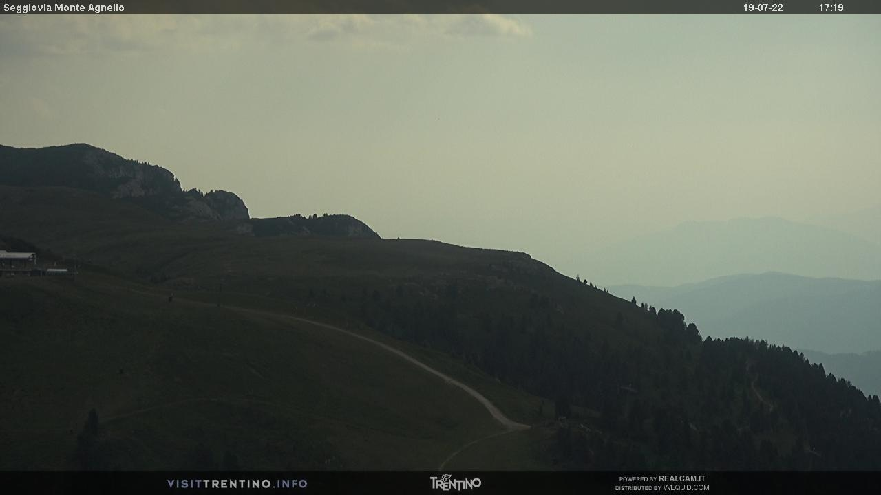 Webcam Seggiovia Monte Agnello - Pampeago, Ski Center Latemar, Val di Fiemme