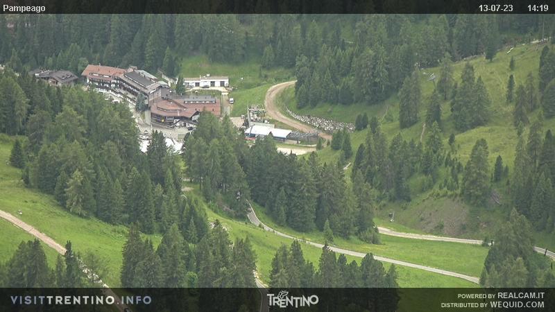 Webcam partenza impianti Pampeago