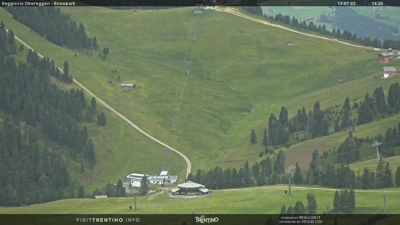 Seggiovia Obereggen e snowpark