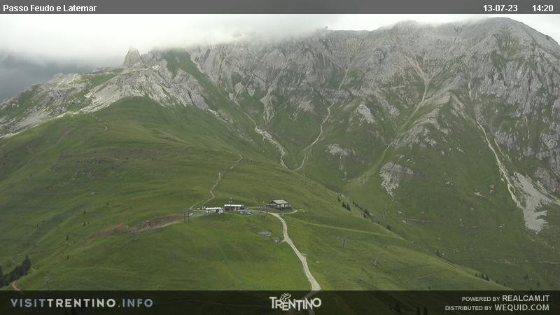 Webcam <br><span>SkiCenterLatemar - Passo Feudo</span>